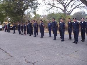 Formación del personal bomberil de Caracas y Maracay