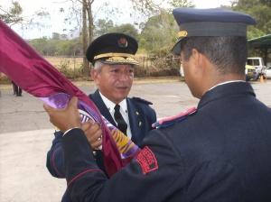 Entrega del Estandarte al Comandante ratificado