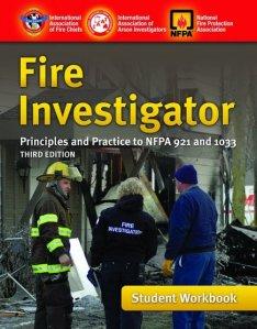 Investigador de Incendios. Manual de Trabajo del Estudiante.